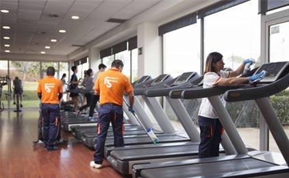 limpieza de instalaciones deportivas