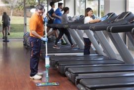 limpieza salas fitness
